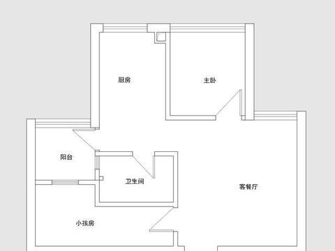 香港夫妻翻新40平新家,坚持美式轻奢风,小户型也能住出豪宅范儿
