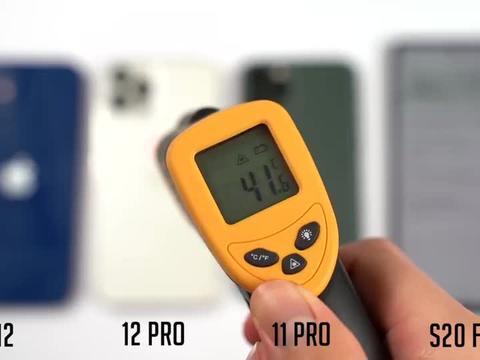 iPhone12与11及三星S20跑分、散热对比评测