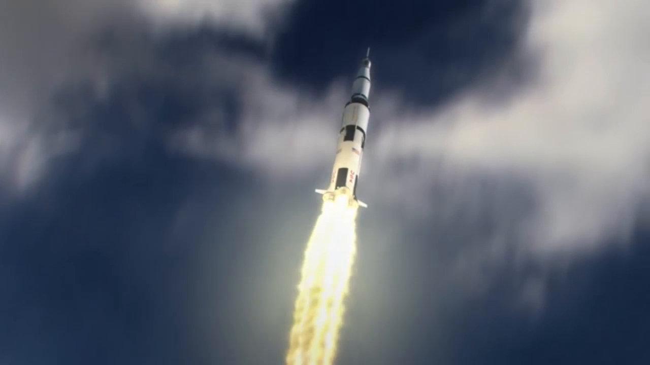 漂亮!仿真模拟当年阿波罗11号登月任务全程