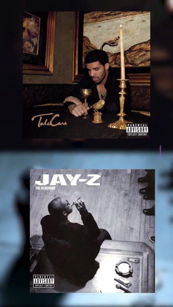 Drake新专辑预告片的致敬 - VS - Jay-Z广告片的致敬