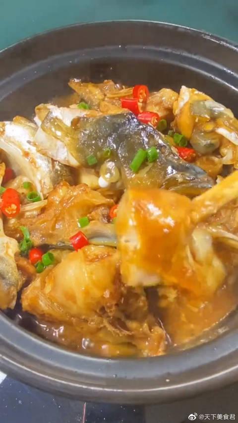 砂锅鱼头的做法,简单又美味,你喜欢吗