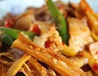 精选美食推荐:香辣烧鱼块,腐竹烧肉,豉香腐竹回锅肉的做法