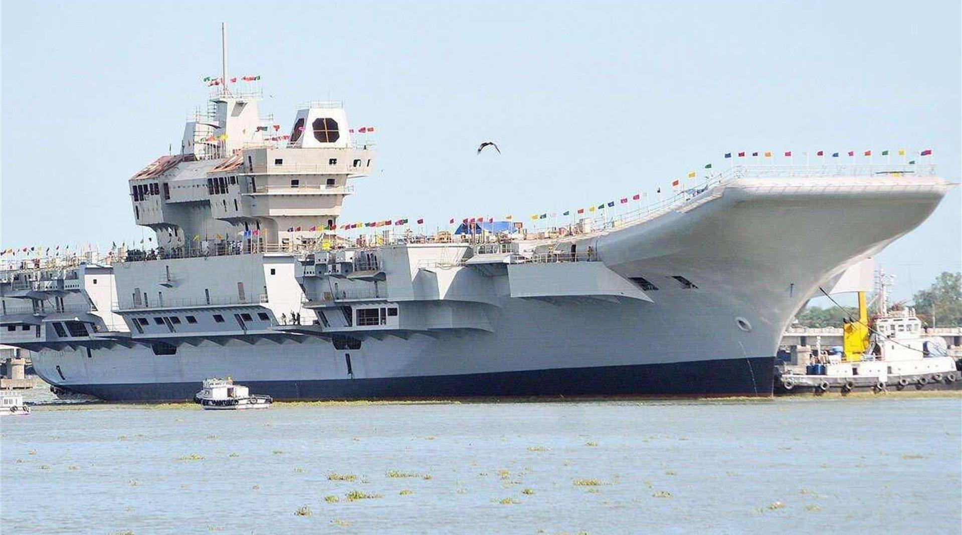 印度新航母即将首次出海,会用F18做舰载机吗?