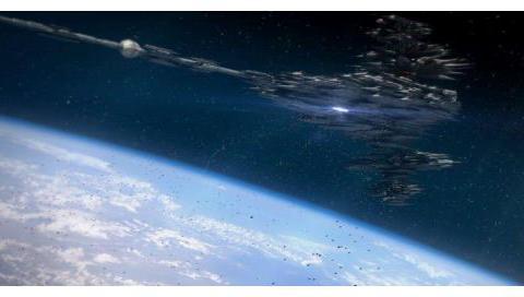 """太空船回传照片:NASA公开""""立方体飞船""""图像,更高等级文明?"""