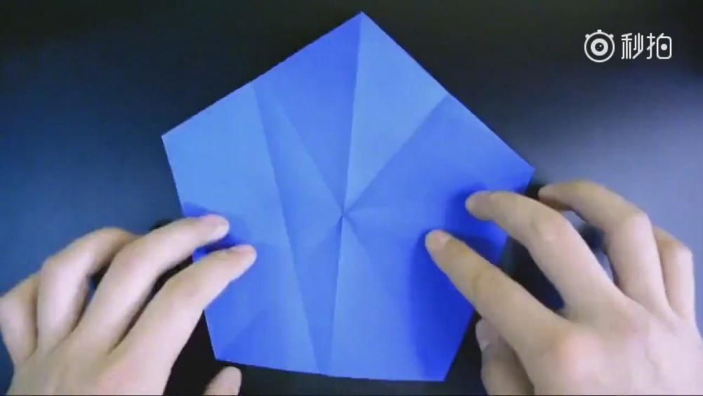 五角星就是要这样折,折出来的效果才好看!!