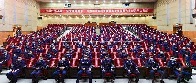 """做好守夜人!全省消防指挥中心主任、接警调度员在南昌""""充电"""""""