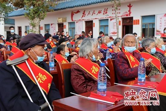 """潢川县白店乡举行第十届重阳""""敬老节""""活动"""