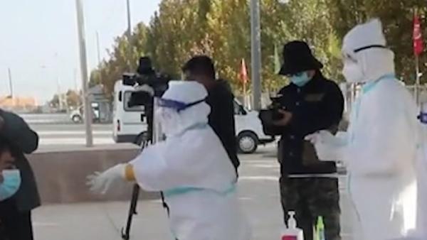 喀什疫情:164例无症状感染者与站敏乡三村工厂关联性大