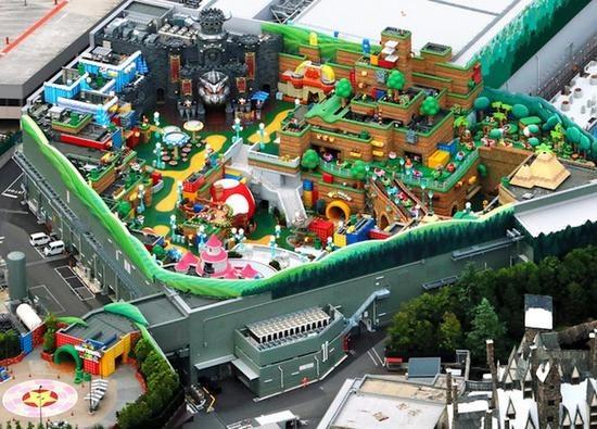 首家任天堂主题公园将开幕 可以玩真人版马里奥赛车