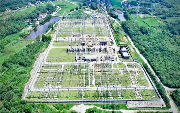池州涓桥500千伏变电站主变扩建工程启动送电