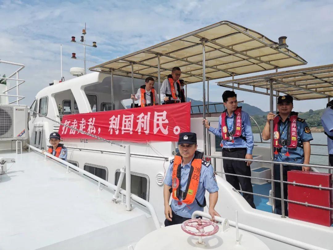 云浮:开展西江水域反走私巡防行动