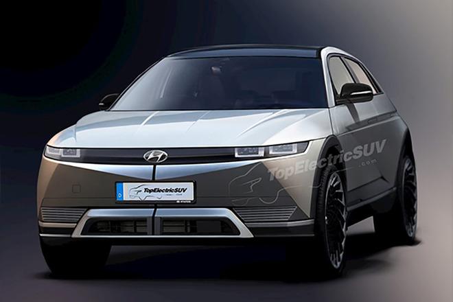 高度还原现代概念车 现代IONIQ 5最新渲染图曝光