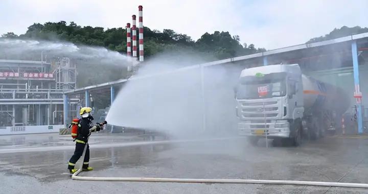 广州黄埔有地方浓烟滚滚?原是特种设备液化石油气泄漏事故应急演练