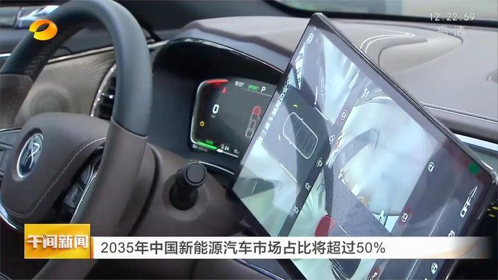 2035年中国新能源汽车市场占比将超过50%