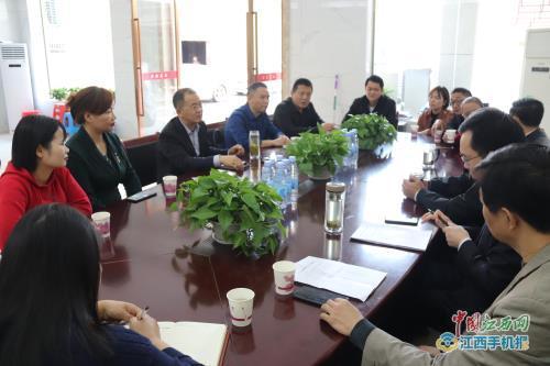 湖北省广水市第二人民医院到萍乡市第三人民医院回访援随医疗队员