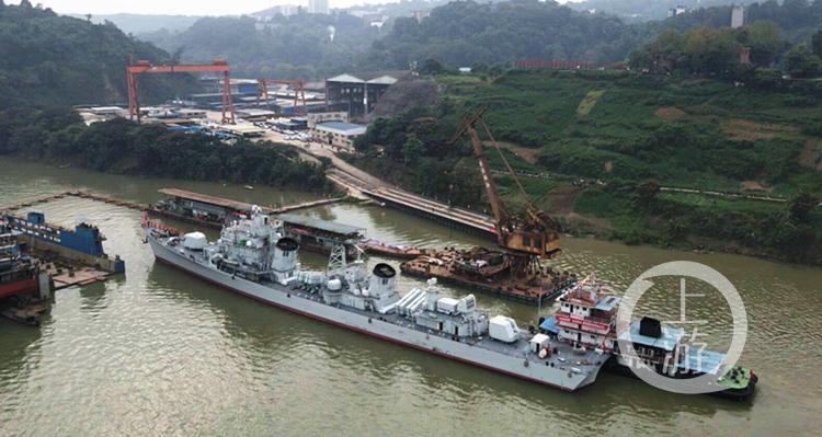 重庆建设码头:做好准备,迎接166舰停靠