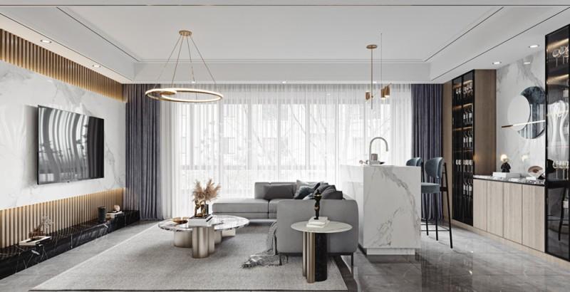 区区35万元,就把133平米的四居室装修拿下了,真是出乎意料!
