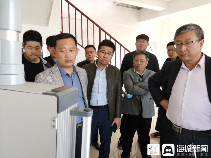 东营市水文局机关党支部与济南市水文局莱芜中心党支部开展结对共建活动