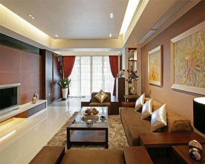 129平米的四居室,运用中式的装修风格效果是怎样的?