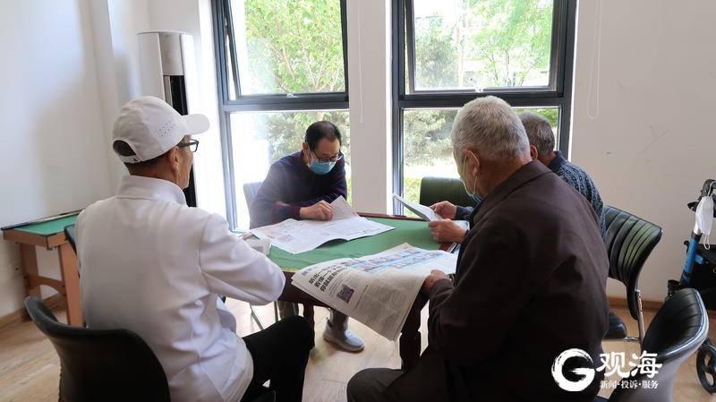 目标提前完成!城阳8个街道的居家社区养老服务中心全部投入运营
