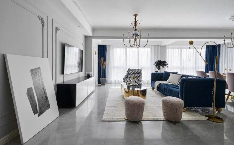现代风格四居室装修案例,142平米的房子装修多少钱?