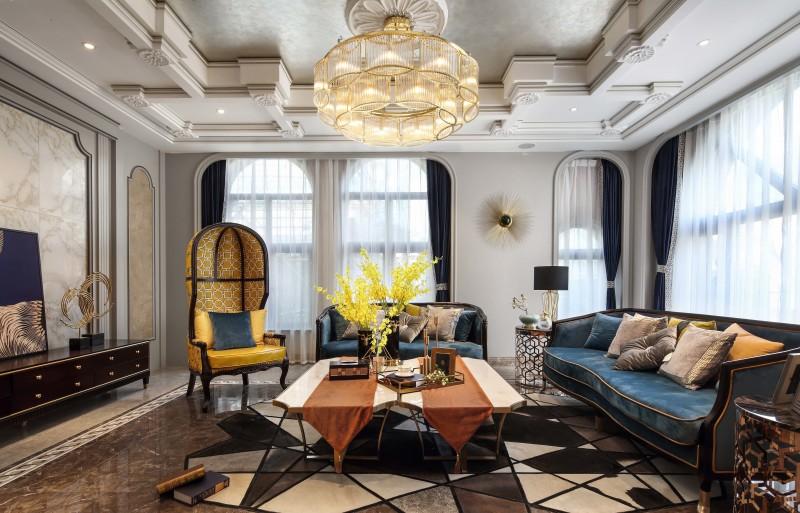 我的装修我做主,142平米的四居室,超级fashion的欧式风格,怎么这么好看!