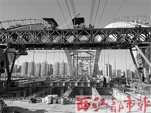 安装桥面钢梁