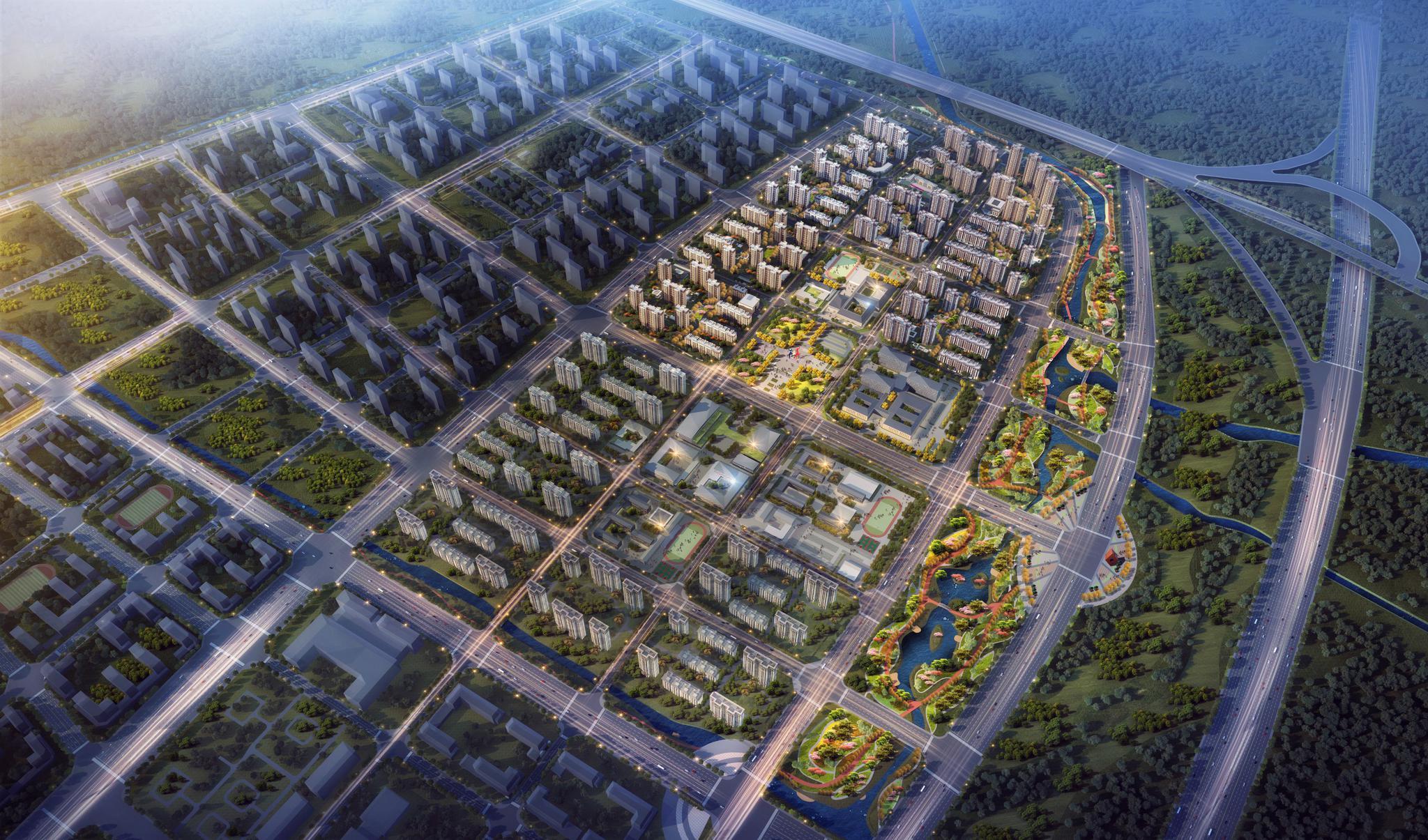 北京大兴国际机场线性工程安置房完成招标,即将开工建设图片