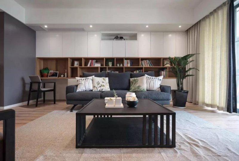 邻居家208平米的四居室,仅仅用了26万元,就完成了装修,如此划算!