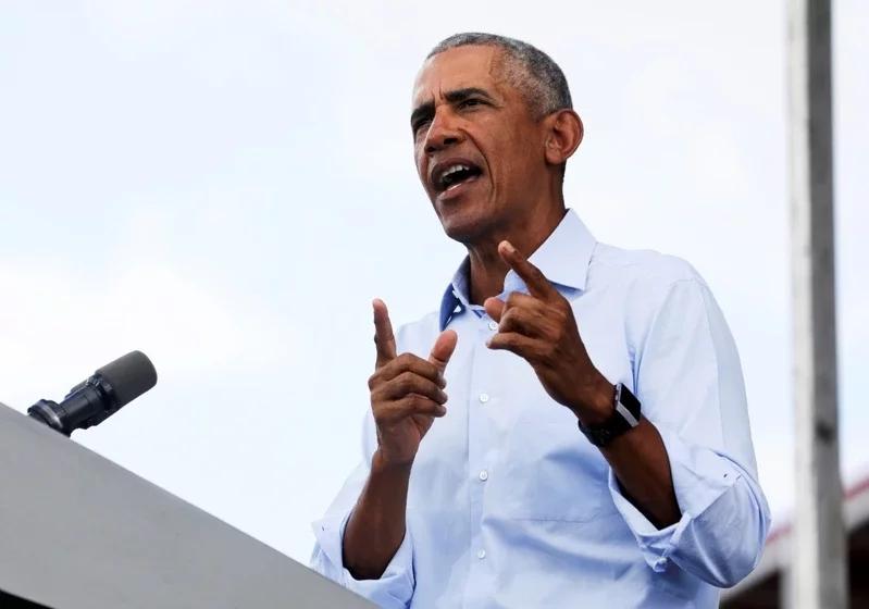 """奥巴马为拜登""""拉票"""":特朗普天天说谎 在网上刷存在感"""