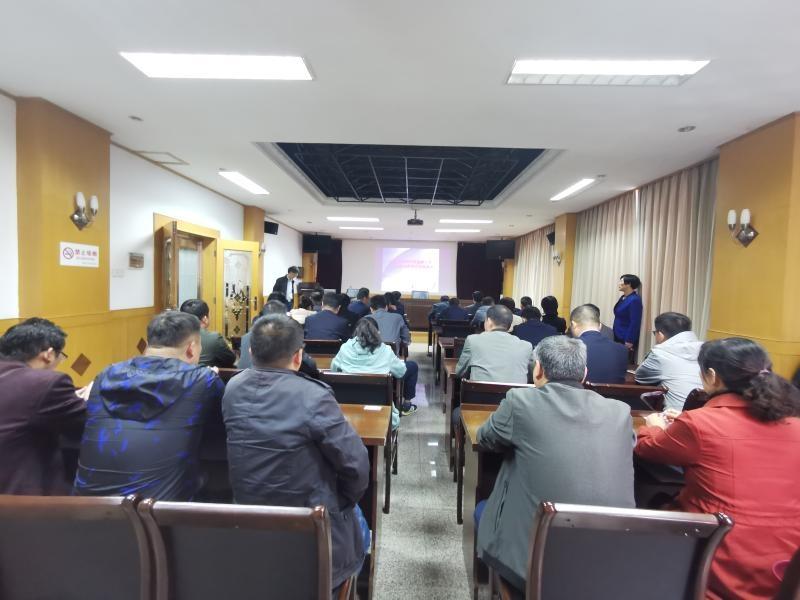 淮南市生态环境局参加全市2020年底国家工作人员宪法法律在线测试