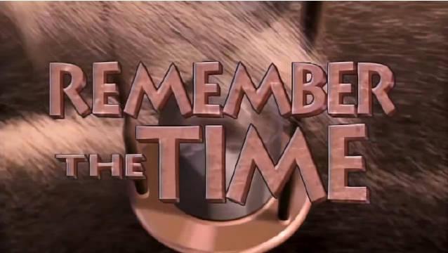 迈克尔杰克逊1992年经典热单《Remember the Time》