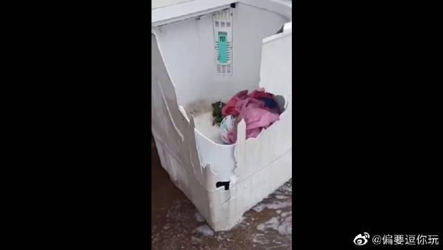 敞篷洗衣机,开放性设计,环保又安全,只要九块九