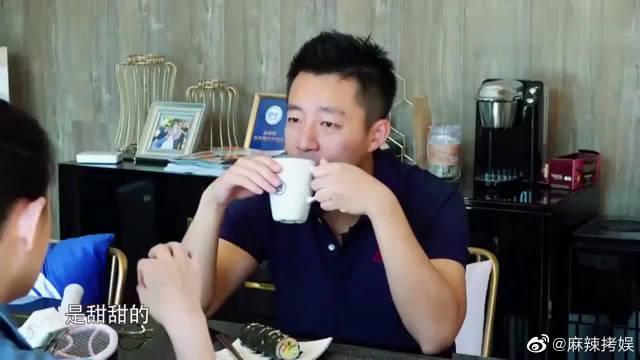 大S讲台北饭团又油又大 但她能吃一整个,汪小菲的表情亮了