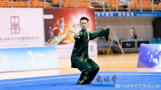 2019年全国武术套路冠军赛 江苏队 王浩然太极拳 太极剑