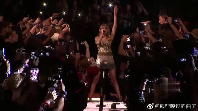 霉霉最燃的一首歌,她从人群中出现的那一刻!