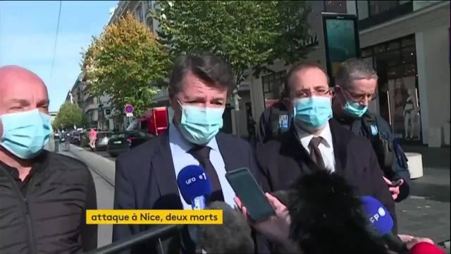 袭击发生在尼斯圣母教堂(Notre Dame),反恐部门已经介入