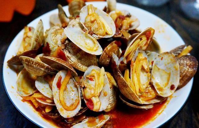 辣炒花蛤在家这样做,鲜辣过瘾,好吃又下饭,爱吃的赶紧收藏