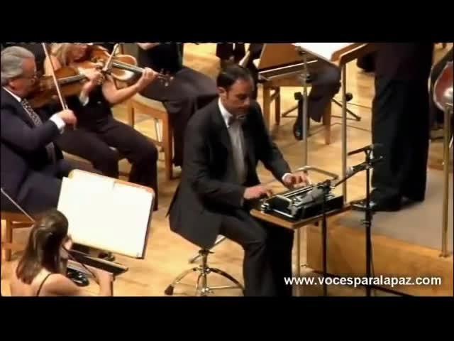 妙趣横生的版本:安德森弦乐合奏《打字机 Typewriter》 《打字机》