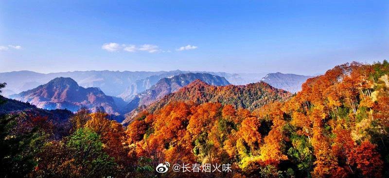 巴中光雾山 ⌚观赏时间:10月中下旬-11月