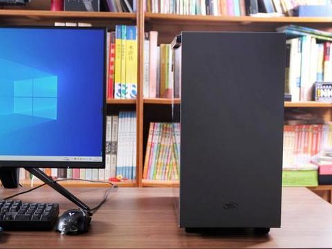 为老电脑升级机箱,九州风神魔方110磁吸机箱体验,高颜值又稳重