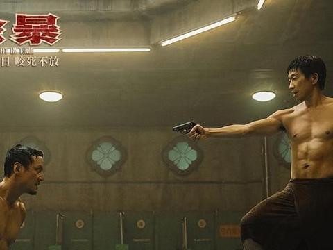 """吴彦祖王千源澡堂赤身肉搏 想不到46岁的""""阿祖""""身材还是这么好"""