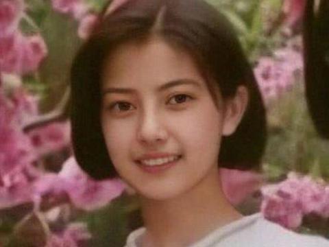 高圆圆少女时期旧照曝光,气质神似年轻时的赵薇,和现在判若两人