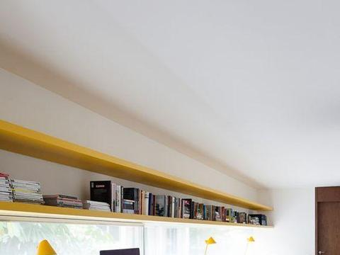家有2娃我会这样设计书房,窗前直接一块板,宽敞桌面用着不打架