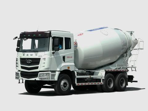 汉马H6系列混凝土搅拌车底盘获评安徽工业精品荣誉称号