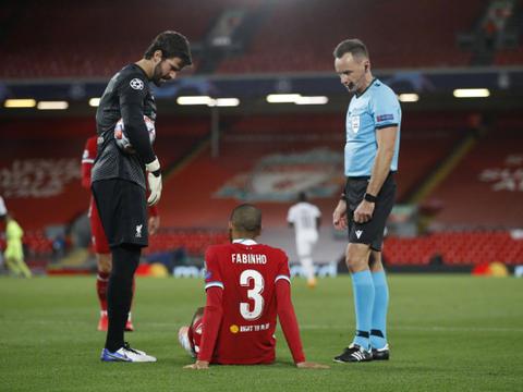 C罗小弟已成利物浦大腿,连续两场进球,法比尼奥,后卫紧缺