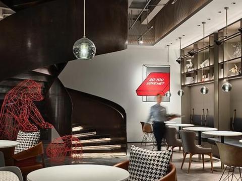主打轻工业风格,上海青浦万达美华酒店设计充满艺术气息