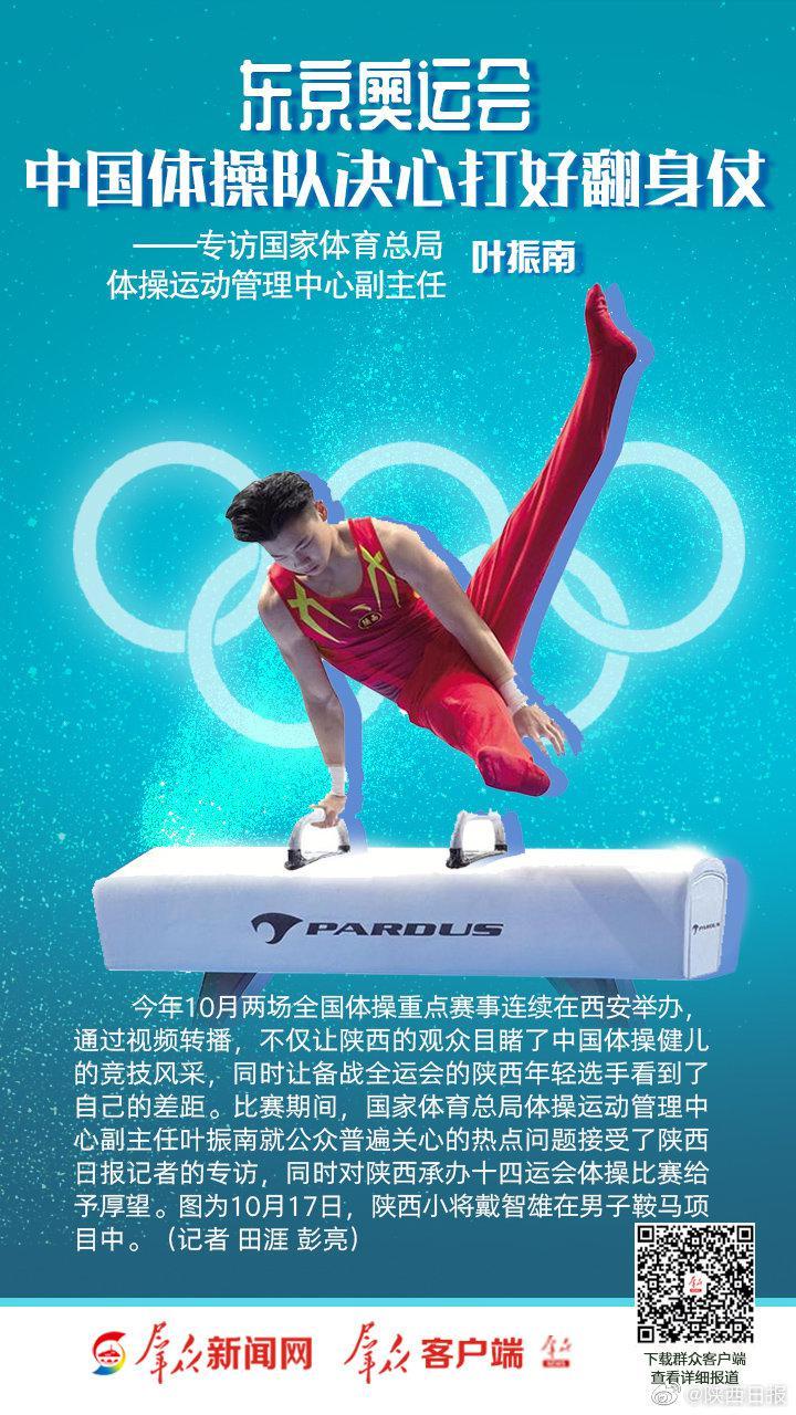中国体操队决心打好翻身仗——专访国家体育总局体操运动管理中心
