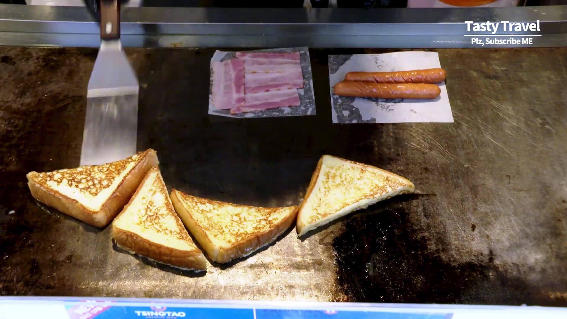 韩国马苏里拉奶酪土司