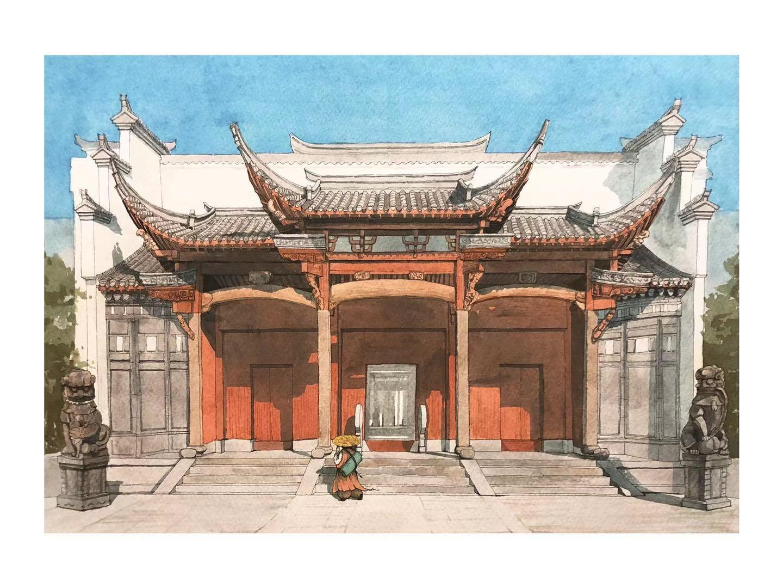 """历时5个月、横跨线上线下,这场展览在云端和古建筑中寻觅""""江南"""""""